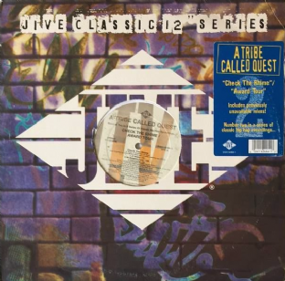 "A Tribe Called Quest - Check The Rhime/Award Tour (12"") (G-/VG)"